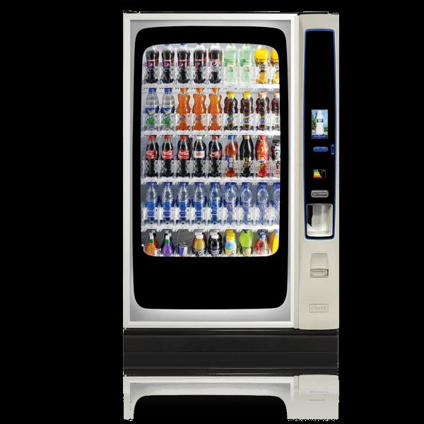 Kaltgetränkeautomat CRANE® BevMax Media